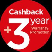 3y warranty banner